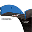"18"" ID Style 1093 PTFE single layer ducting expansion joint cross-sectional detail"