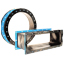 Round and rectangular Style 1093 PTFE single layer ducting expansion joint sample